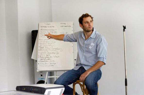 Startup Olympics Kalle Eberhardt einer der Gründer