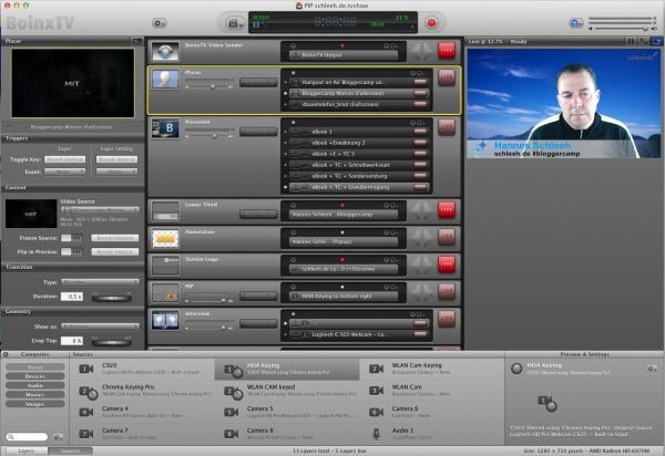 Boinx TV Software