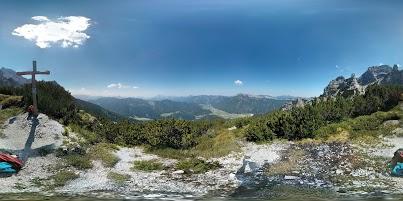 Gipfelblick vom Brunnkopf in Tirol