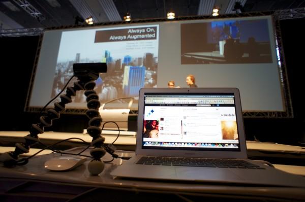 Übertragungstechnik auf der InsideAR 2013