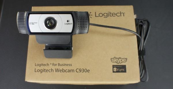 Drei Logitech Webcam C930e