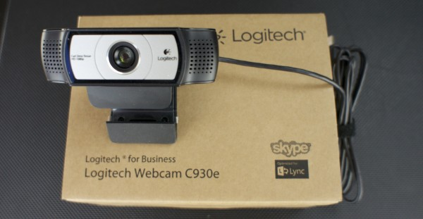 Drei Logitech Webcam C930e