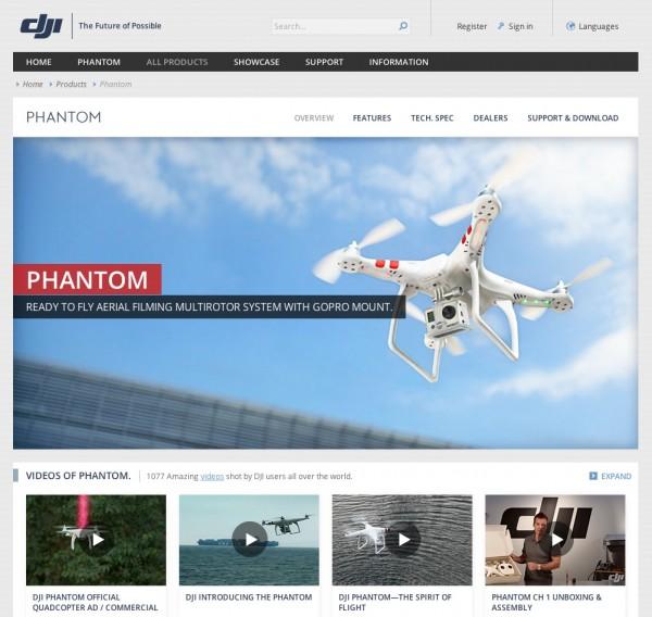 DJI Phantom mit GoPro