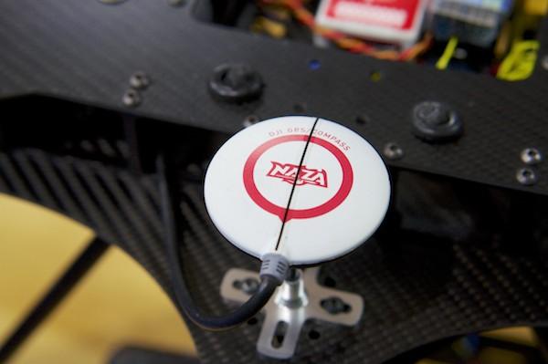 Multikopter GPS-Antenne mit Kompass Foto: Schleeh