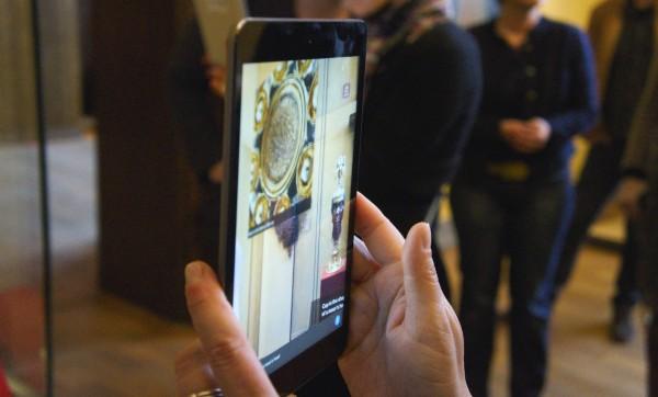 Der goldene Pokal in Augmented Reality im Bayrischen Nationalmuseum mit METAIO