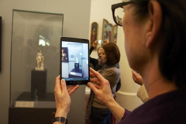 Judith und der Kopf des Holofernes Augmented Reality im Museum