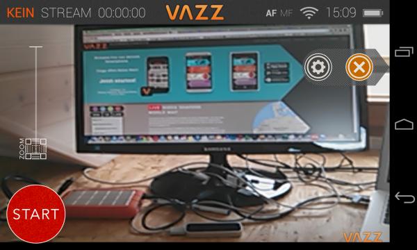 Screenshot VAZZ
