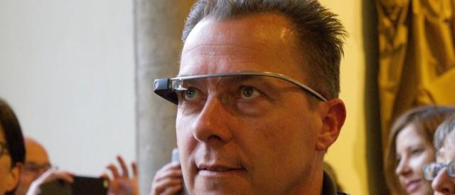 Google Glass Augmented Reality auf der re:publica 2014