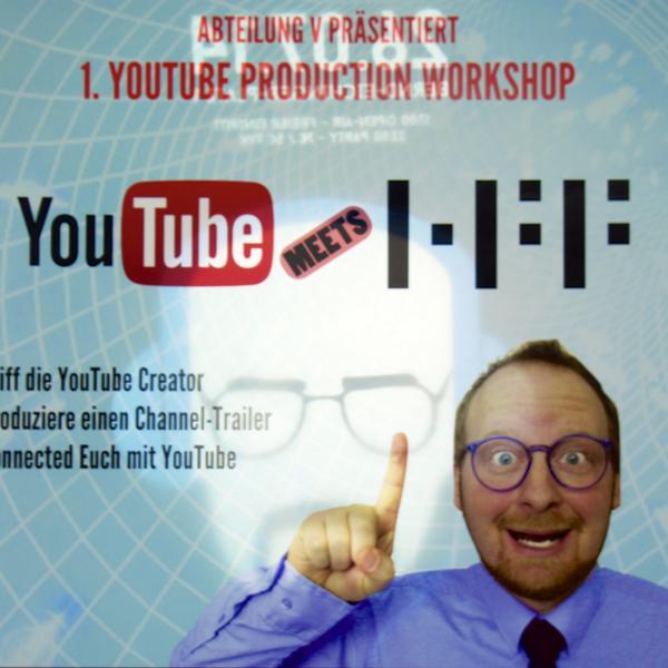 YouTube Workshop an der HFF mit Dr. Allwissend und Breaking Bass Ghost