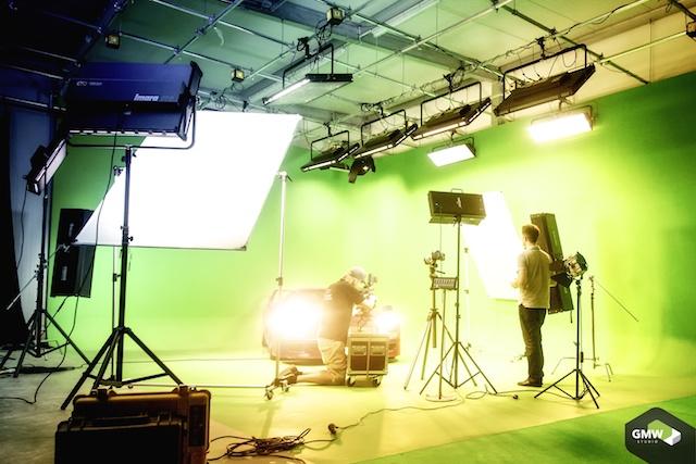 Aufnahmen im Greenscreen Studio Foto gmw-studio www.gmw-studio.de