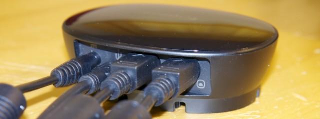 Kabelbox der Logitech CC 3000e