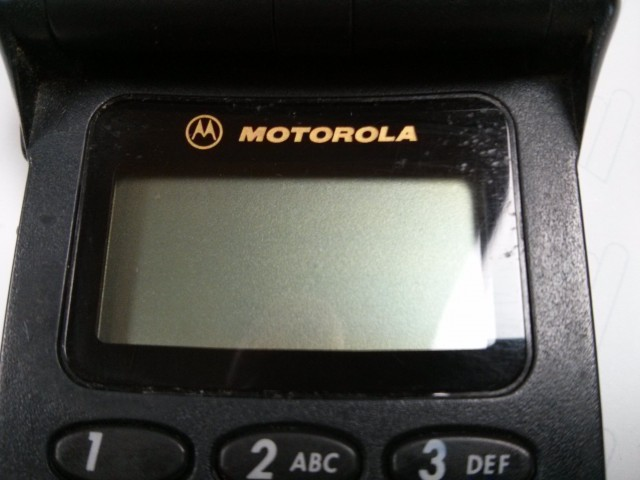Handydisplay Motorola Star Tac aus dem Jahr 1997