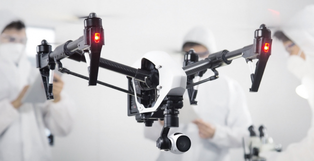 DJI Inspire 1 die AlleskönnerKamera-Drohne