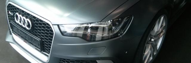 Audi Front Foto: Hannes Schleeh