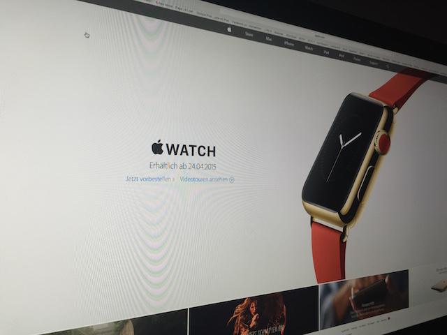 Apple Watch erhältlich ab 24.04.2015