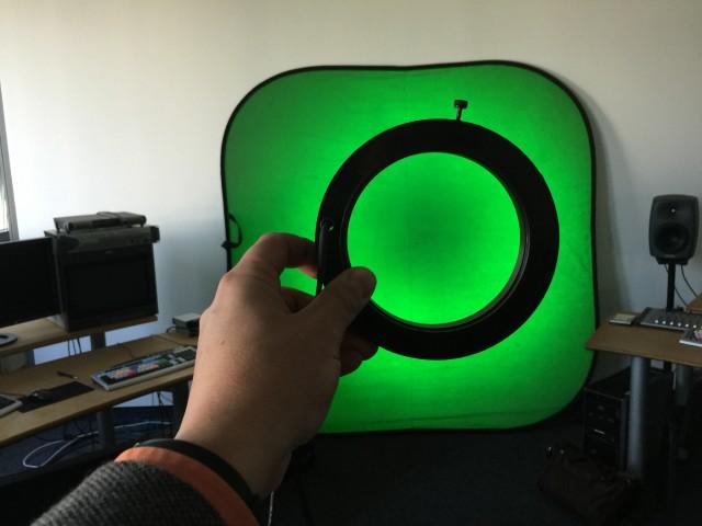 Chroma Keying mitLED-Ring
