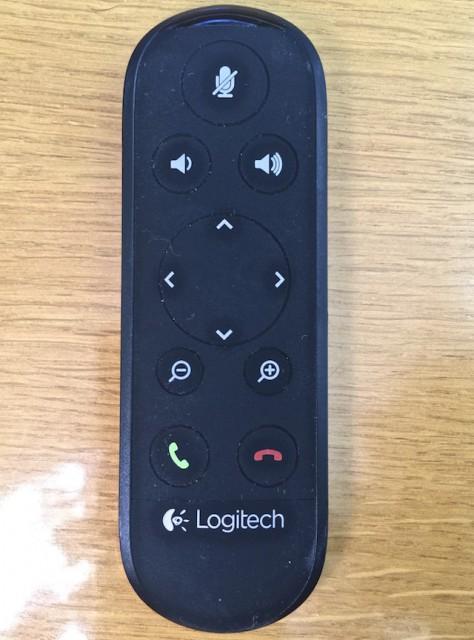 Magnetische Fernbedienung der Logitech ConferenceCam Connect