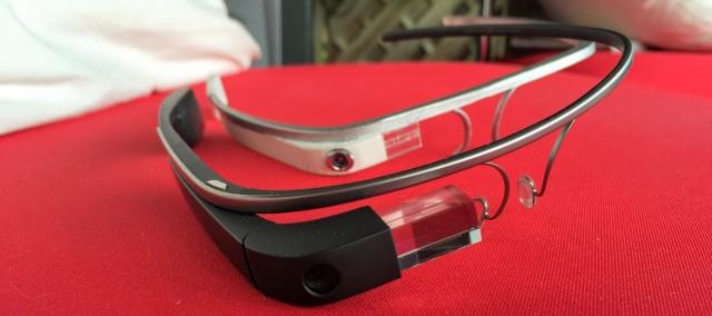 Meine beiden #GoogleGlass Brillen
