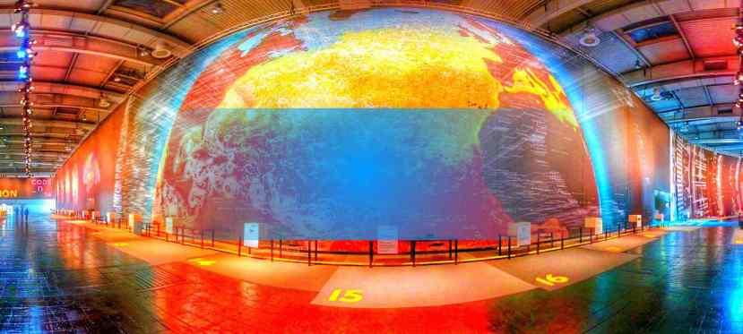 Die Welt in 360Grad