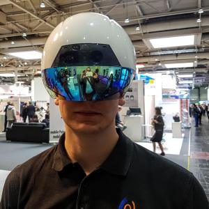 Augmented Reality Helm